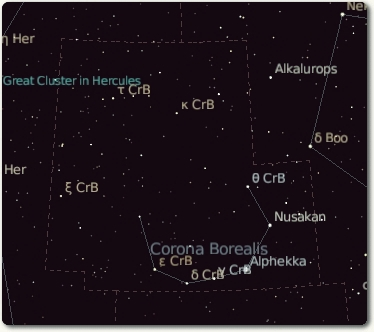'Amateur Astronomy'. Constellations Overview