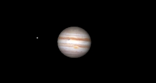 Jupiter now tending to its best!
